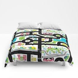 Pop of Colour Playmat Comforters