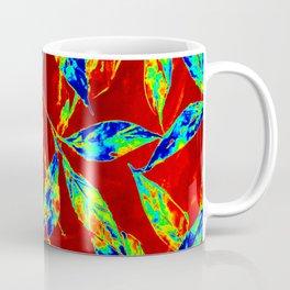 Leaf pattern- Fire Coffee Mug