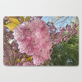 Cherry Blossoms Cutting Board