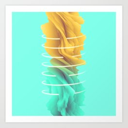 Golden Air Art Print
