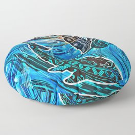 Whales Tale Floor Pillow