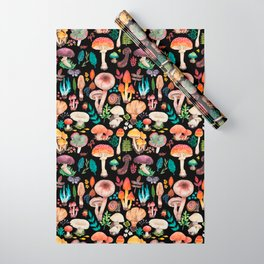 Mushroom heart Wrapping Paper