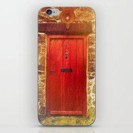 The red door iPhone Skin