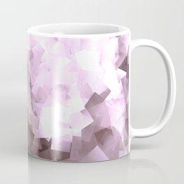 Purple Lilac Ombre Geometric Print Coffee Mug