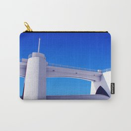 Sepulveda Dam on blue Carry-All Pouch