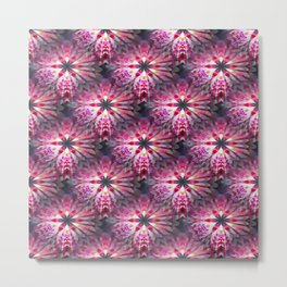 Magical flower pattern Metal Print