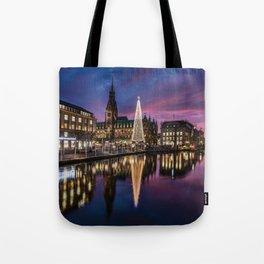 Hamburg Christmas Market Tote Bag