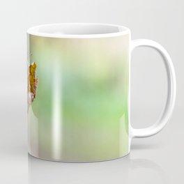 Flying autumnal leaf Coffee Mug