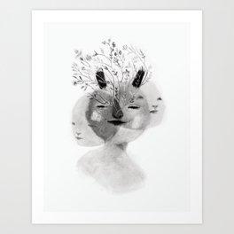 Triade No.1 Art Print
