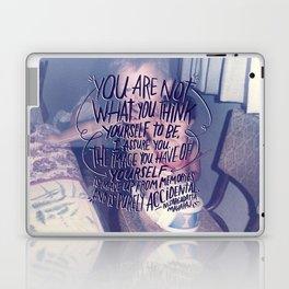 NISARGADATTA MAHARAJ Laptop & iPad Skin