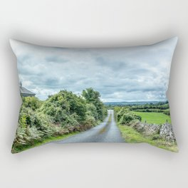 The Rising Road, Ireland Rectangular Pillow