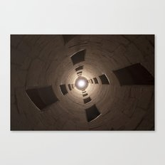 Chambord Castle - Stairs Canvas Print