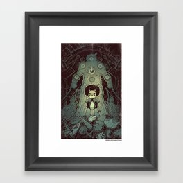 """x-clusive spoiler from issue#4 - Fresco """"The way of Bo"""" Framed Art Print"""