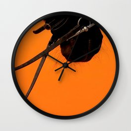 Take The Reins Wall Clock