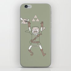 Link Adventure iPhone & iPod Skin