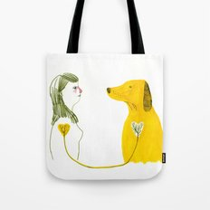 LOVE AND DOGS part 2 Tote Bag