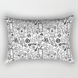Swearing all day! Rectangular Pillow