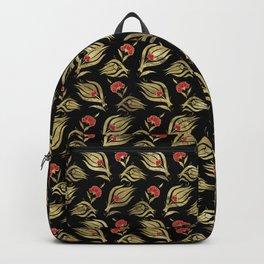 Turkish tulip - Ottoman tile pattern  4 Backpack