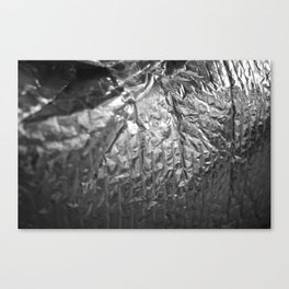 Silver Pattern 1 Canvas Print