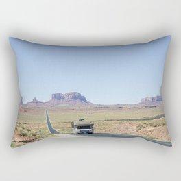 Monument Valley road trip Rectangular Pillow