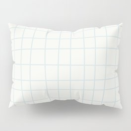 Modern minimalist ivory blush blue geometrical Pillow Sham