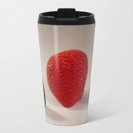 Strawberry Blackberry Travel Mug