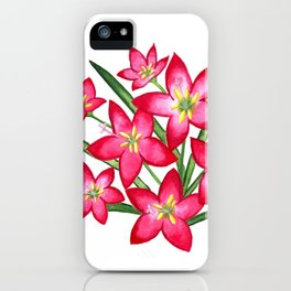 Rain Lilies iPhone Case