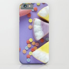 Purple Gummy Candy iPhone Case