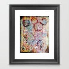 Radishing Framed Art Print