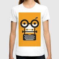 typewriter T-shirts featuring typewriter by oguzhan