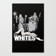 The Whites Canvas Print