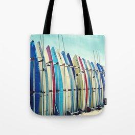 California surfboards Tote Bag