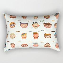 Hipster life Rectangular Pillow