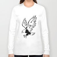 eagle Long Sleeve T-shirts featuring Eagle  by ArtSchool