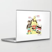 nutella Laptop & iPad Skins featuring I {❤} NUTELLA by lilycious