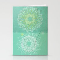 morocco Stationery Cards featuring Morocco Mint by ZenaZero