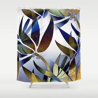 bamboo Shower Curtains featuring Bamboo by Artisimo (Keith Bond)