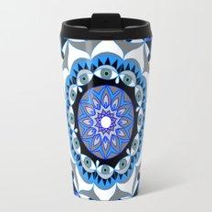 My Peace Mandhala | Secret Geometry | Energy Symbols Travel Mug