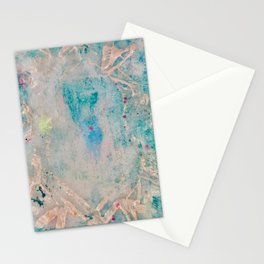 Opal Crystal October Birthstone from 52 Facets Zine Stationery Cards
