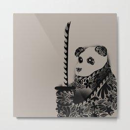 Yakuza Panda Metal Print