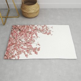 Cherry Blossoms (Color) Rug