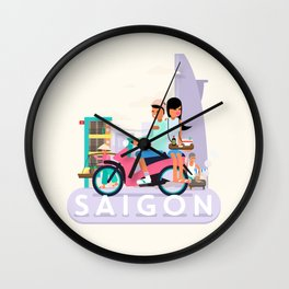 SAIGON Wall Clock