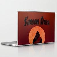 ninja Laptop & iPad Skins featuring NINJA by NENE W