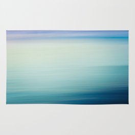 I Love the Sea Ombre Abstract Rug