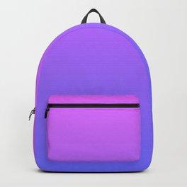 Violet and Blue Gradient Backpack