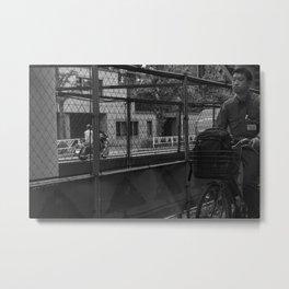 parallels Metal Print