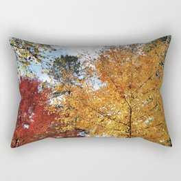 Sugar Maples in all their glory Rectangular Pillow