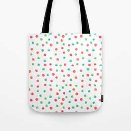 Happy Dots Tote Bag