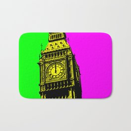 Big Ben - In all her coloured glory... Bath Mat