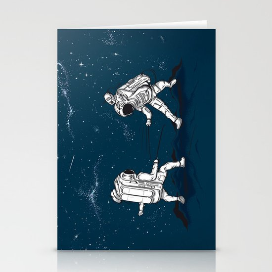 Fencing at a higher Level Stationery Cards
